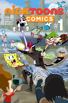 Commission: Nicktoons Comics #1 by Coonfoot