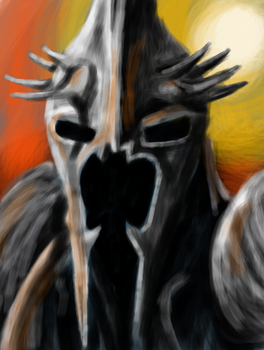 The Witch-King of Angmar by theArt14brother