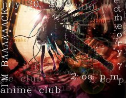 AnimeClub poster in long while by l-takumi-l