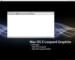 Mac OS X Leopard 2.11 Graphite by blitzr