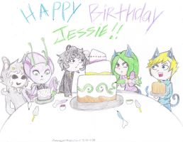 Happy Birthday Jessie!!! by Suemoons