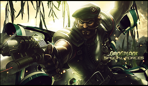 Gangplank: Special Forces by Arcaste
