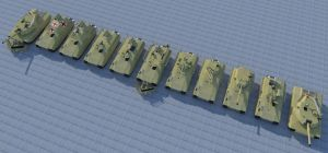 Complete series of Lynx AFV by kaasjager