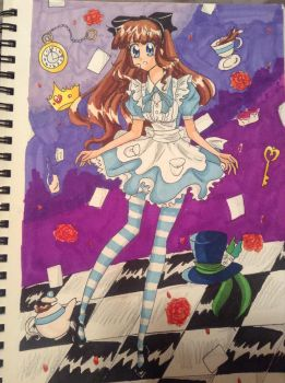 Alice in wonderland by sissie-chan