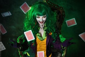 Female Joker cosplay 2 by HydraEvil