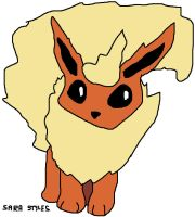Peppers the Flareon by BlueSkyWarhawk