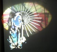 The umbrella +light graffiti+ by Pavement-Chameleon