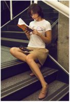 Geek Chic 2 - Reading by melissa-andrade