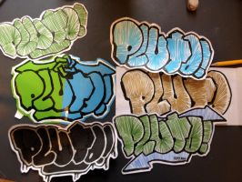 Stickers by Pluto-1