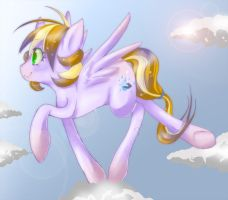 Cloud bouncin by Kalsmi