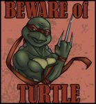 TMNT: Beware of Turtle by Violette-Aner