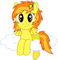 Filly Spitfire on cloud by MacTavish1996 by MacTavish1996