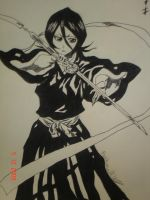 Rukia: Dance Sode No Shirayuki by Asuna1108
