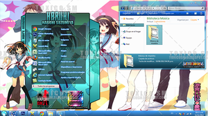 theme windows 7 Haruhi by ToxicoSM