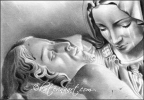 Pieta by Katerina-Art