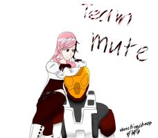Team Mute by sketchingchaos