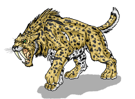 DHD-Smilodon by Scatha-the-Worm