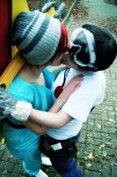 Heroic Kiss by LilacLace