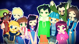 Minecraft: Story Mode - Squad by KateKenway