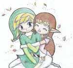 Link And Zelda Cuddle by lozlocs