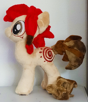 Spirit Plushie :Commission: by AppleDew