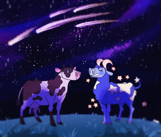 Cows by CremexButter
