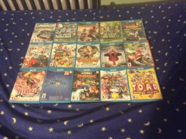 My Wii U Collection by UKD-DAWG