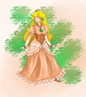 Princess Peach by IslandMyths
