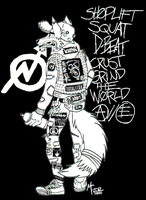 Shoplift/Squat/D-Beat/Crust/Grind The World -Done- by CrashyBandicoot