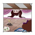 The Monster Under the Bed by BlackCatINK