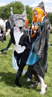 Midna Cosplay - x2 by coshie