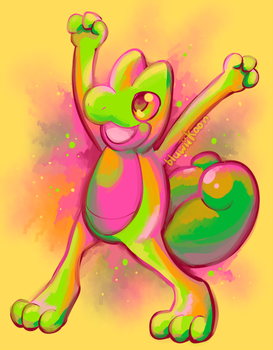 Time for Treecko by Bluwiikoon