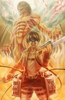 SnK- Eren Jaeger by Will2Link