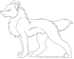 Tovery . lineart . by Shiro-Wolf