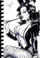 Zatanna Sketch by Carliihde