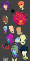 Fallen Zephyr's 100 palette challenge by Mewi-or-Melody-Wind