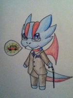Johnathan Chibi by Queer-Robot