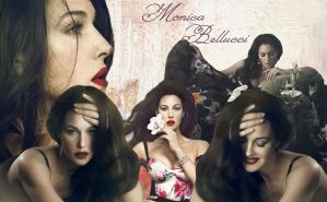 Wallpaper - Monica Bellucci by DarinaBerry