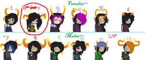 More Homestuck Adopts CLOSED by kittyocat