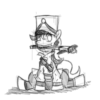 Baggie Pack Soldier Request (Sketch/Planning) by Sir-Croco