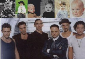 Rammstein Babies and Adults by lizaredlion