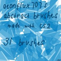 ABSTRACT--BRUSHES_ by aeonflux707