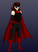 Batwoman Redesign by StolenThunder