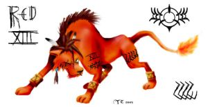 Red XIII by Pseudolonewolf