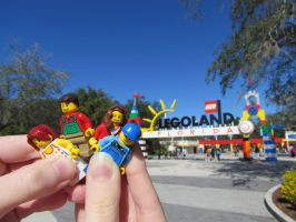 Visiting Legoland by photography-dreaming