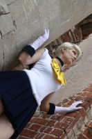My Cosplay Sailor Uranus. by LadaSever