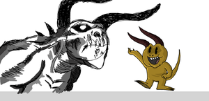 Deathclaw Doodles by KanesTheName