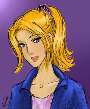 Color-sketch Betty Cooper by AyaBlue22