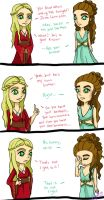 Mean Girls of Westeros Vol:2 by Hallow-Quinn