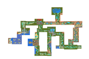 JOHTO soul silver: full game map by foliap